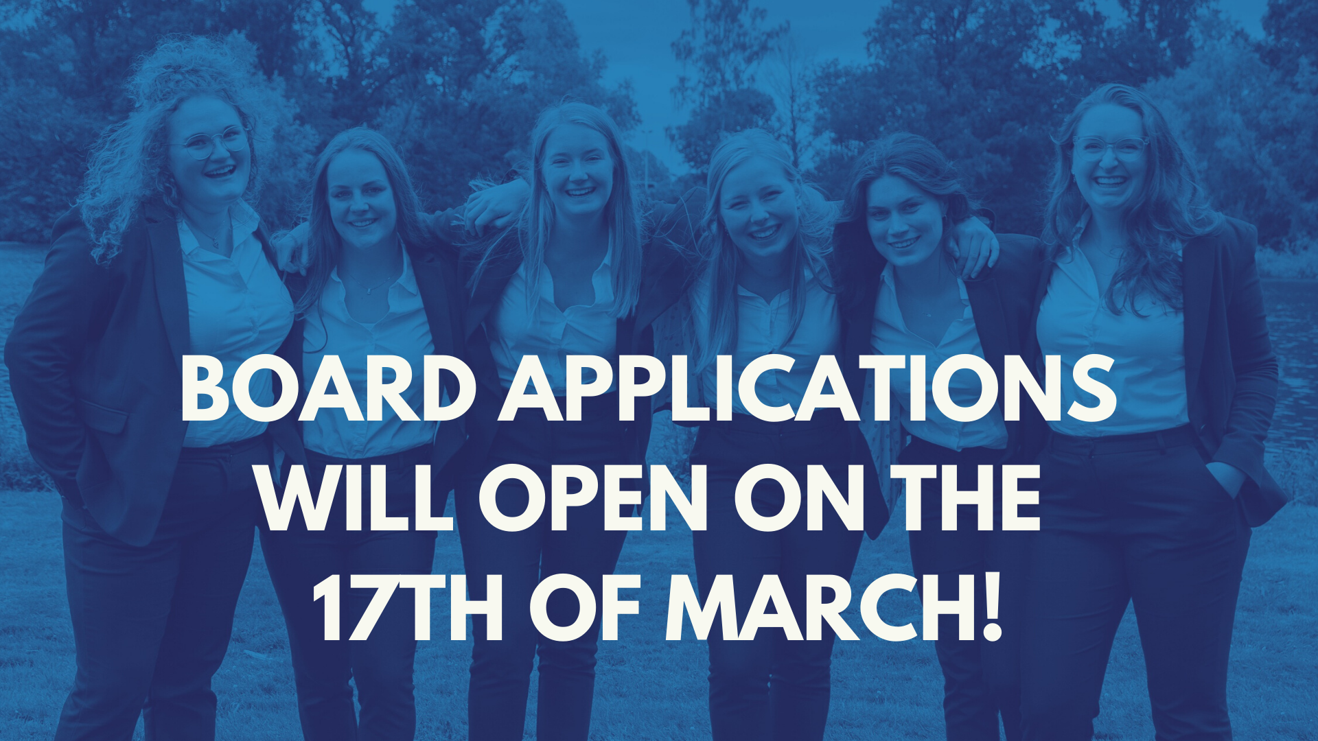 Board applications opening soon!