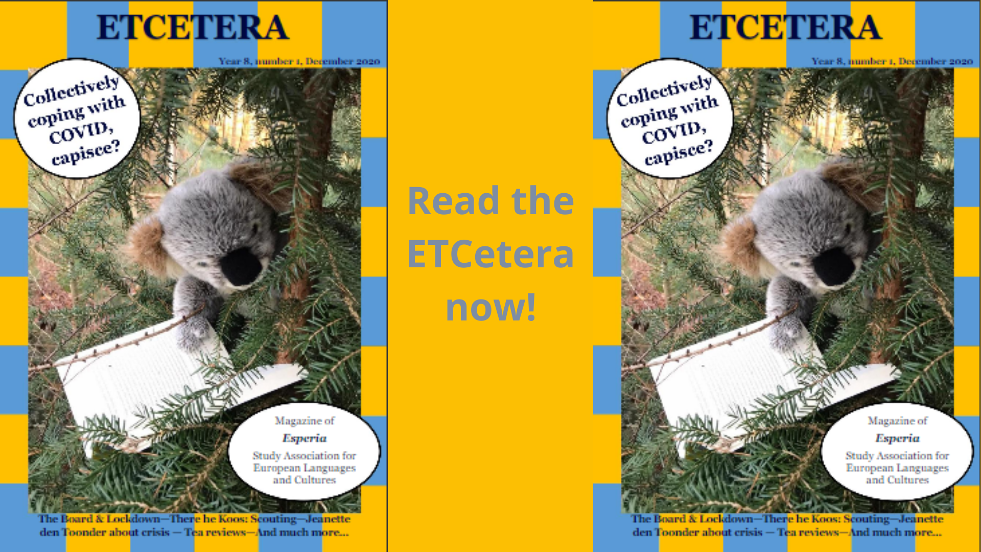 Read the ETCetera online!