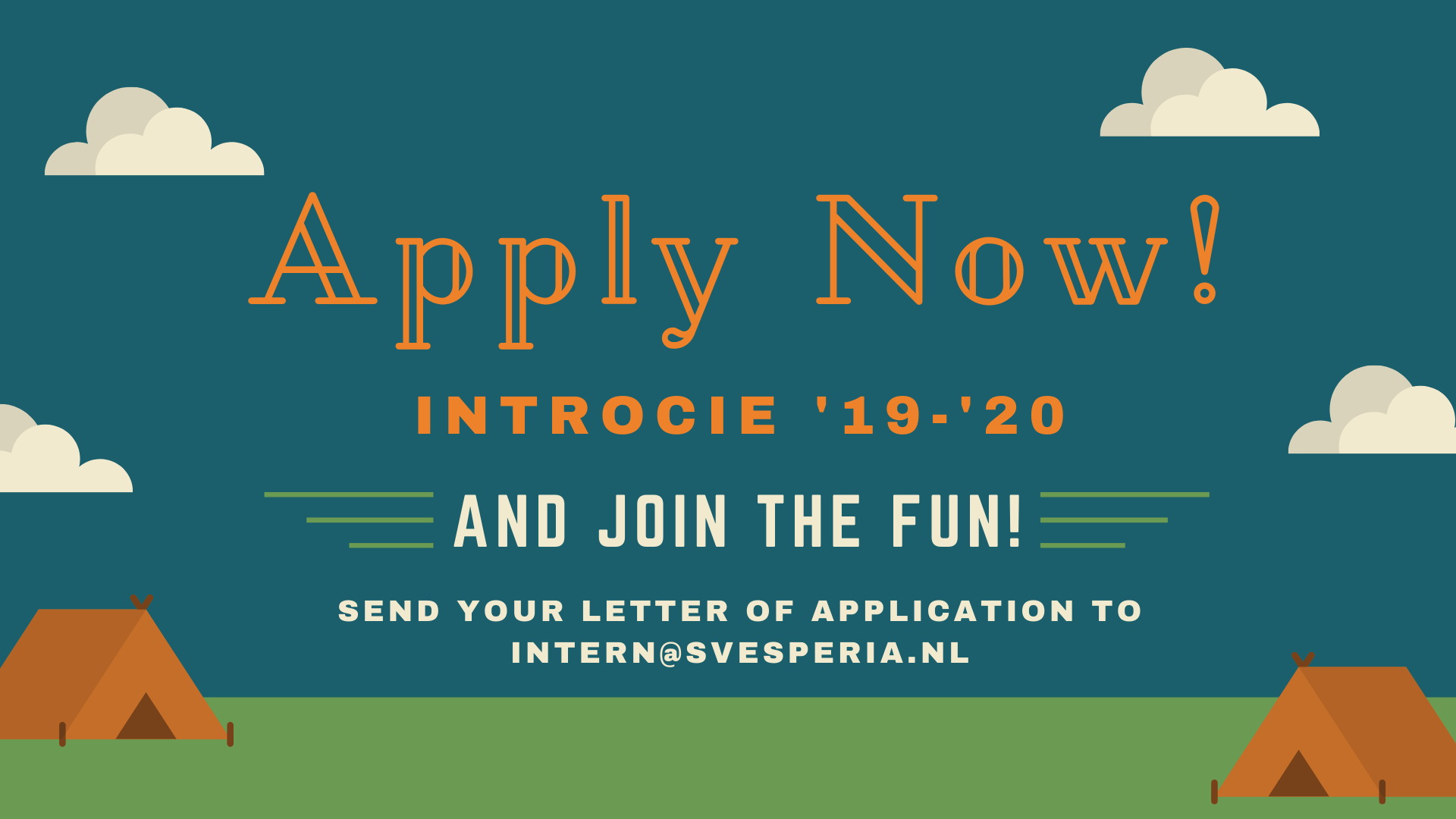 Apply for the Introcie!